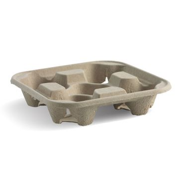 4 Cup BioCup Tray