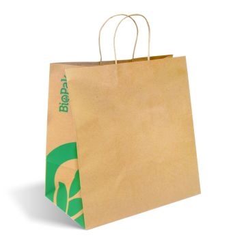 Jumbo Twist Handle Kraft Paper Bags