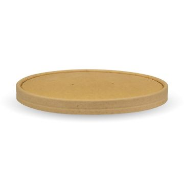 Kraft Lid to Fit 1,300ml Kraft FSC™ Salad Bowl
