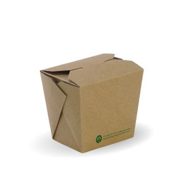 480ml / 16oz BioBoard Noodle Box