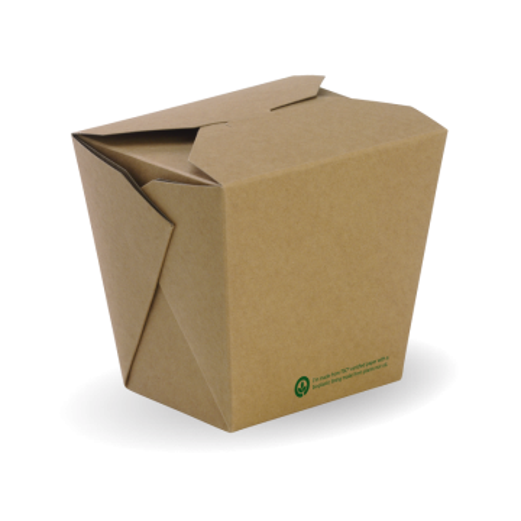 960ml / 32oz BioBoard Noodle Box