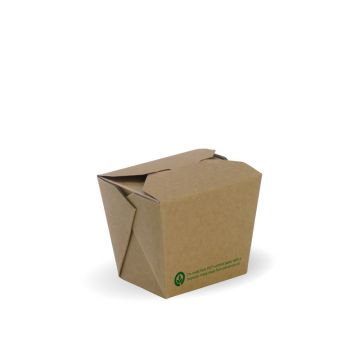 240ml / 8oz BioBoard Noodle Box