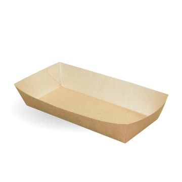 Large Kraft Open Tray 119x244x45mm