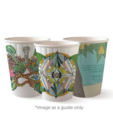 390ml / 12oz (90mm) Art Series Double Wall BioCup