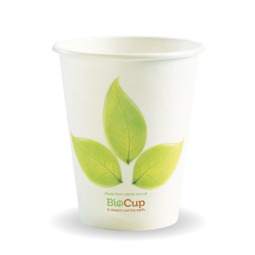 280ml / 8oz (80mm) Leaf Single Wall BioCup