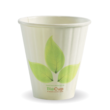 295ml / 8oz (90mm) Leaf Double Wall BioCup