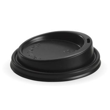 90mm PS Black Large Lid