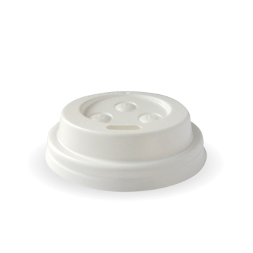 63mm PS White Sipper 4oz Lid