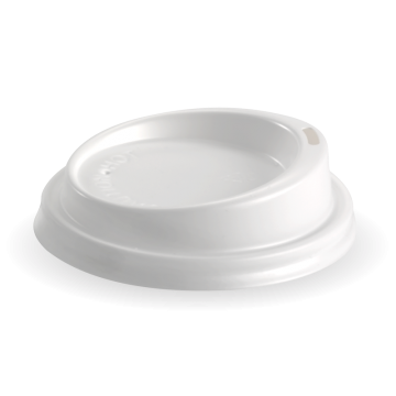 80mm PS White Small Lid