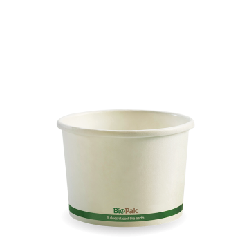 250ml / 8oz White BioBowl