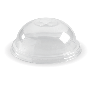 60 - 280ml Clear Dome X-slot Lid
