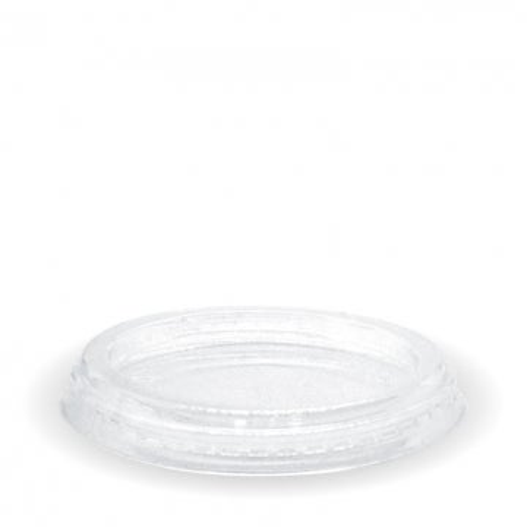 60- 280ml Flat Clear BioCup Lid