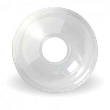 300-700ml Clear Dome 22mm Hole Lid