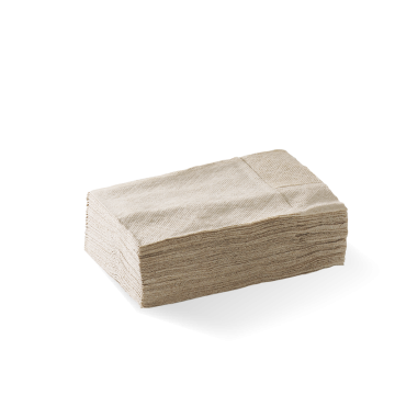 D-Fold Compact 1 Ply Natural Dispenser BioNapkin