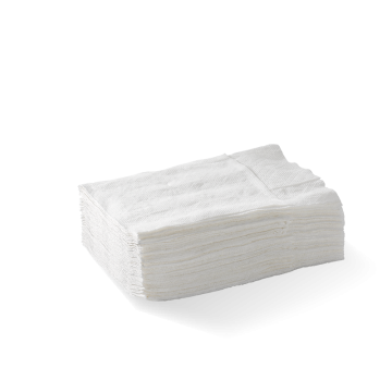 D-Fold Compact 1 Ply White Dispenser BioNapkin