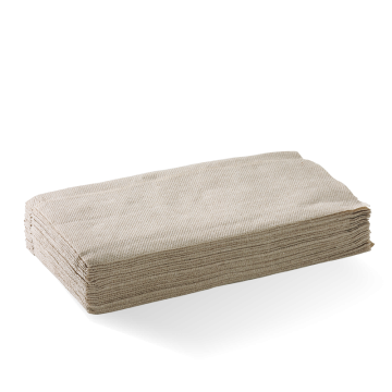Single Saver 1-Ply Natural BioDispenser Napkin