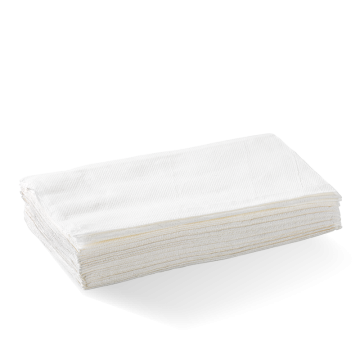 Single Saver 1-Ply White BioDispenser Napkin