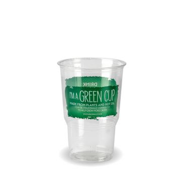 "Half Pint ""I 'm a Green Cup"" PLA Tumbler CE Marked"