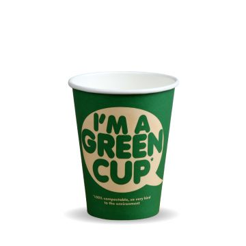 "12oz Single Wall ""I'm a Green Cup"""