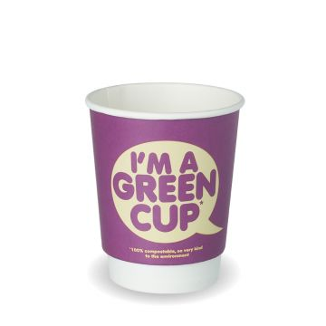 "8oz Double Wall ""I'm a Green Cup"""
