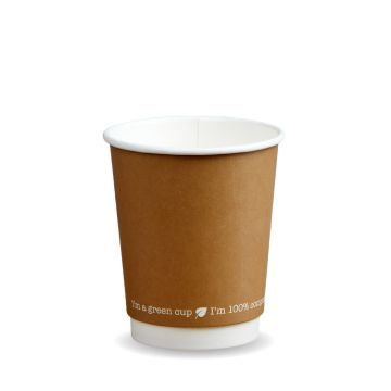 12oz kraft double wall cup