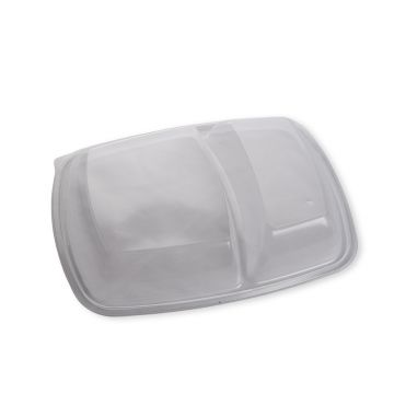 Domed Lid To Fit Two Compartment Tray