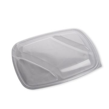 Flat Lid To Fit Three Compartment Tray