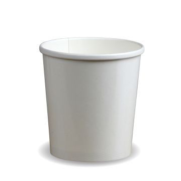 16oz PLA White Soup Container