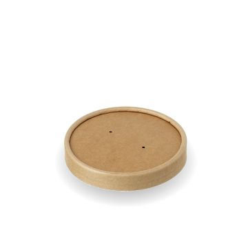 PLA Lid for 16oz Kraft Soup Container