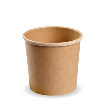 16oz PLA Kraft PLA Soup Container