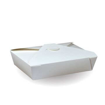 #2 Recyclable White PE Hot Food Box