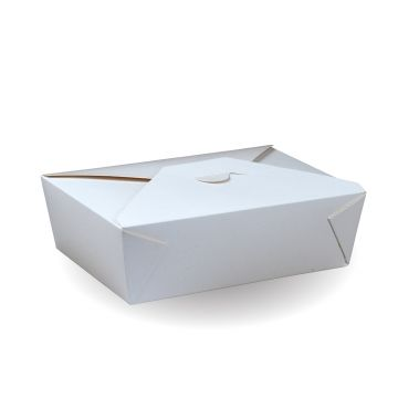 #8 Recyclable White PE Hot Food Box