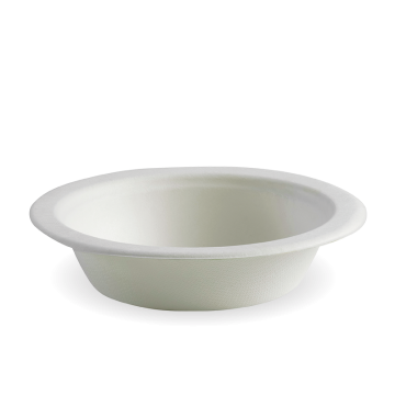 16oz White BioCane Bowl