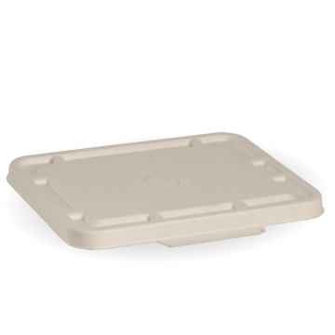2 & 3 Compartmet Natural BioCane Takeaway Lid