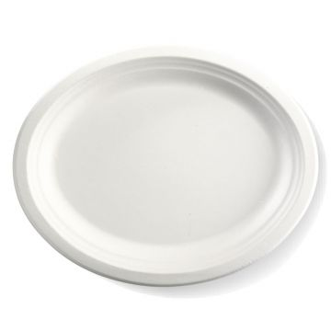 "12.5x10"" Oval BioCane Plate"