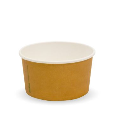 150ml/5oz Kraft PLA-Lined Ice Cream BioCups | FSC™ Certified