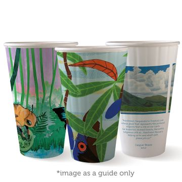 16oz Art Series BioCup - Double Wall