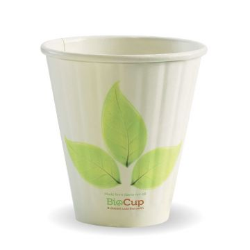 8oz (90mm) Leaf BioCup - Double Wall