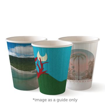 255ml / 8oz (80mm) Art Series Double Wall BioCup