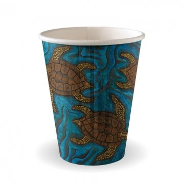 12oz Double Wall Indigenous BioCup