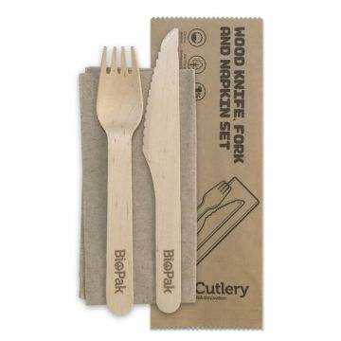 16cm Coated Wood Knife