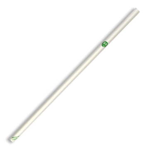 6mm Regular White BioStraw