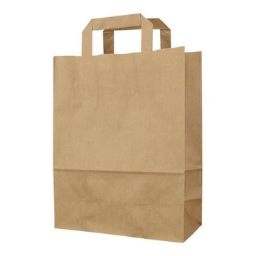 Large Kraft SOS Bags 90gsm with Inside Handle