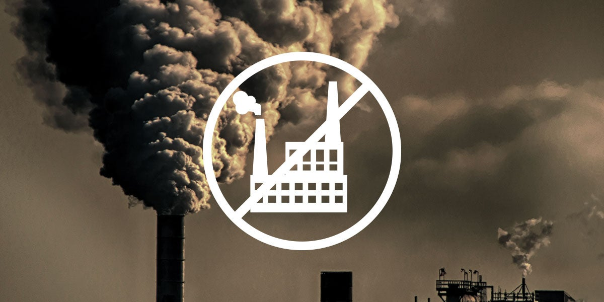 free from fossil fuel icon