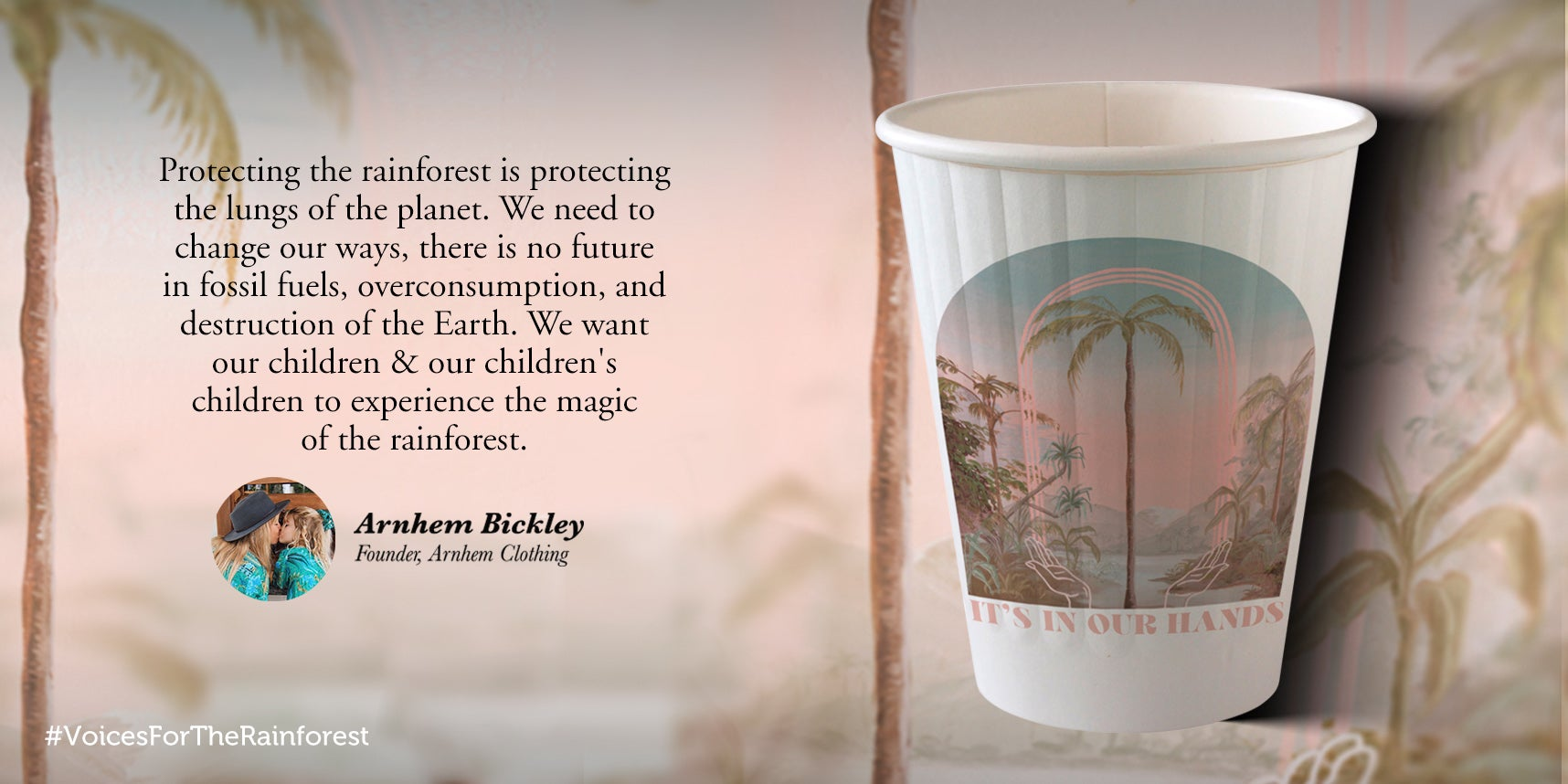 Arnhem Bickley paper cup design