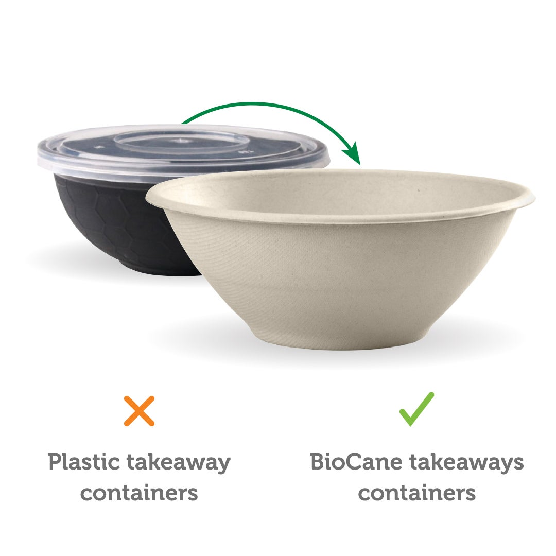 sustainable alternative to plastic takeaway containers