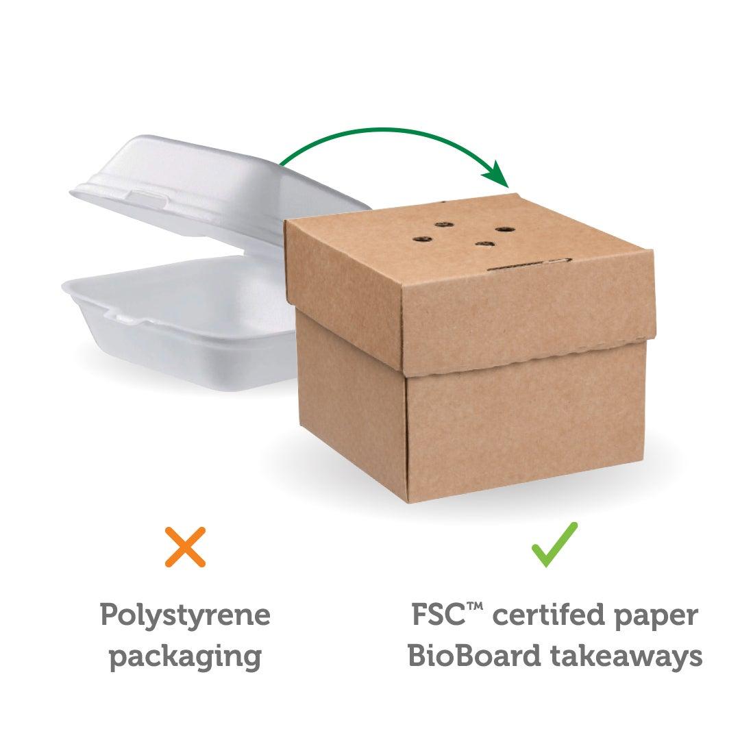 sustainable alternative to styrofoam/polystyrene packaging