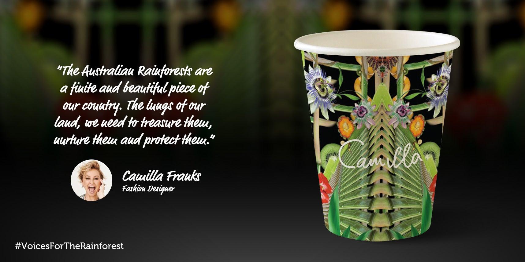 Camilla Franks paper cup design