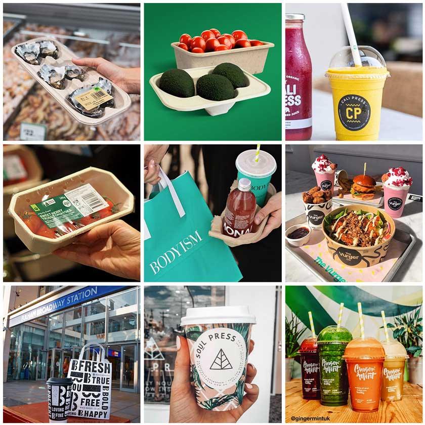Collage of BioPak customers