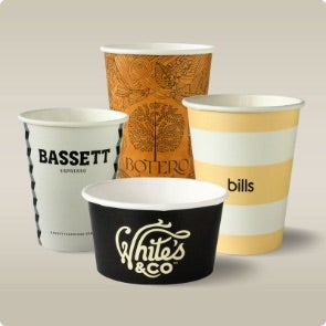 custom takeaway coffee cups